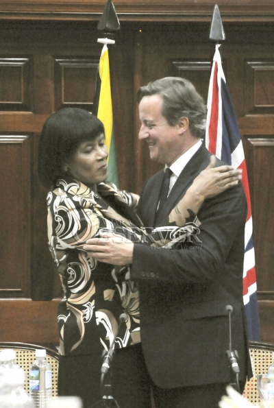 BRITISH PRIME MINISTER AT JAMAICA HOUSE11
