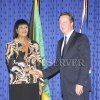 BRITISH PRIME MINISTER AT JAMAICA HOUSE1
