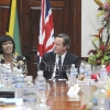 BRITISH PRIME MINISTER AT JAMAICA HOUSE8