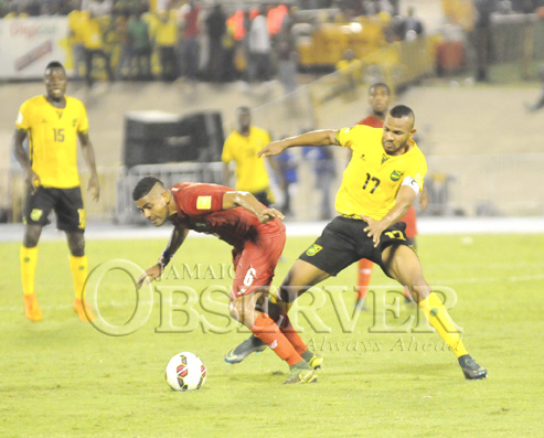 JAMAICA VS PANAMA AT NATIONAL STADIUM16
