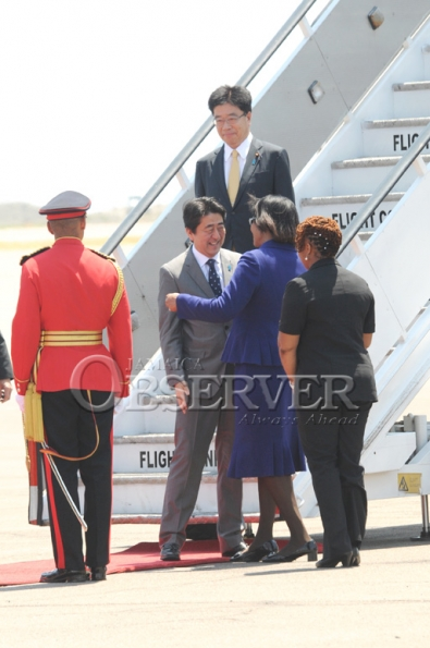 JAPAN PRIME MINISTER VISIT TO JAMAICA 18