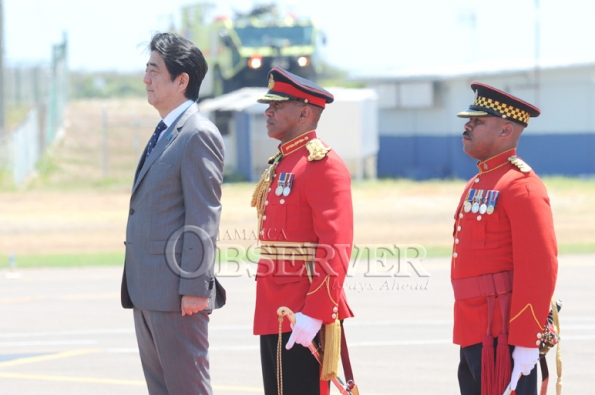 JAPAN PRIME MINISTER VISIT TO JAMAICA 22