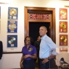 US-DIPLOMACY-OBAMA-JAMAICA-ARRIVE
